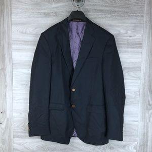 Peter Millar Wool Custom Tailored Suit Jacket